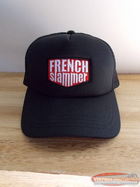 Casquette Trucker  Black brodée FRENCHSLAMMER