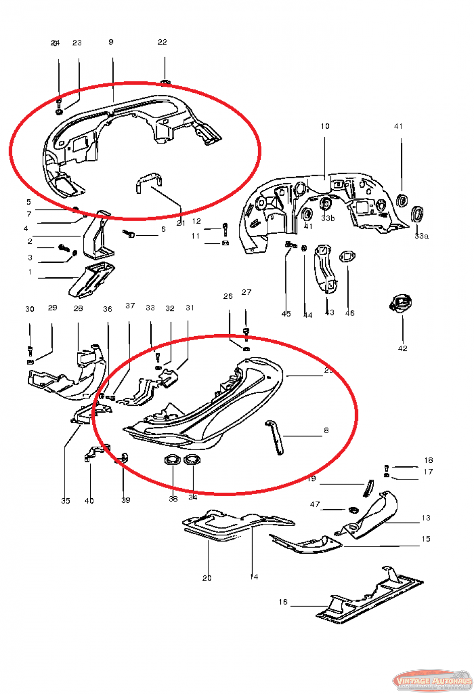 vintage vw parts catalog html
