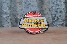 Porte clés rond Vintage Autohaus