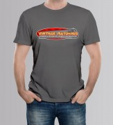 TEE-SHIRT HOMME GRAPHITE by Vintage Autohaus