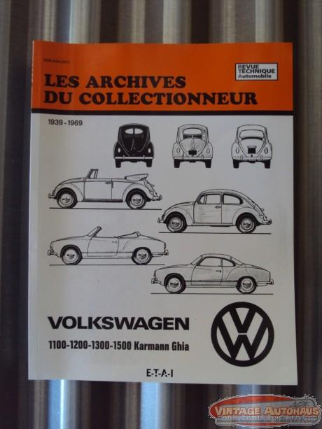 Revue Technique Automobile de 1939 à 1969