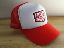 Casquette Trucker White&Red brodée FRENCHSLAMMER