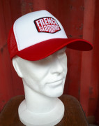 Casquette Trucker White&Red brodée FRENCHSLAMMER