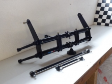 Train avant rétréci -8cms pour cox à pivots + barres